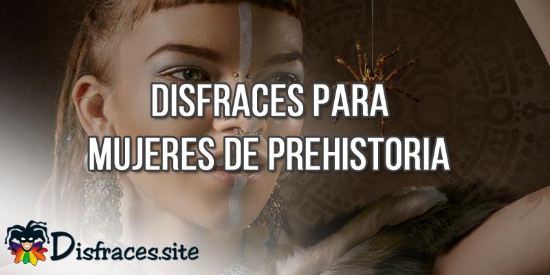 Disfraces para mujeres de prehistoria